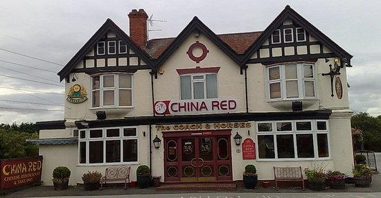 China Red at the Coach and Horses