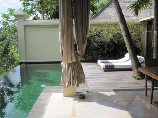 Komaneka at Bisma: 1 bedroom villa private pool & deck