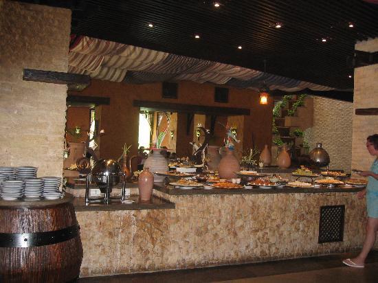 Port Ghalib Resort: le buffet