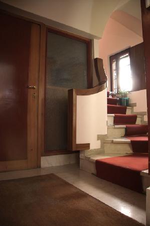 Hotel San Fantin: interno scale