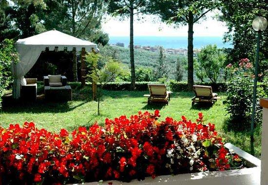 Colle Moro Resort - B&B Villa Maria: Giardino con vista sull'Adriatico