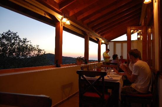 t'Aloni: You can enjoy the view from the restaurant