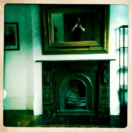 The Main House: Mantle shot