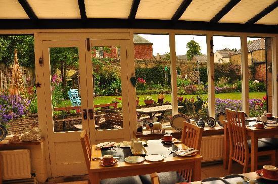 Greycroft: dining area