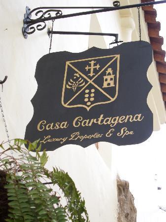 Casa Cartagena Boutique Hotel & Spa: Vor dem Hotel