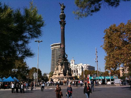 Barcelona, Spanien: Siegessäule