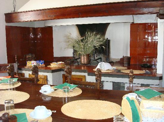 Villa Sant'Andrea: Breakfast room