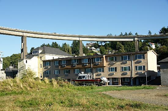 Motel 6 Astoria: Motel - Rückseite