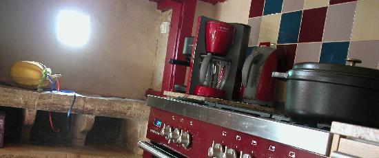Tarn, France : cuisine ou sont préparés les tables d'hotes