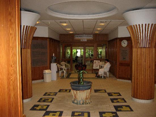 Danubius Health Spa Resort Heviz : Hier sind rechts und links die Behandlungsräume