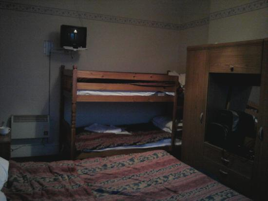 Arlington Hotel: Bunk Beds