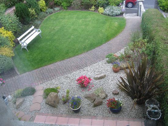 Ardaghmore Bed and Breakfast : View of front garden from Fairhead Rm.