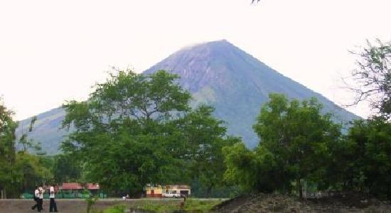 Hotel Playa Santa Martha: Volcán Concepción