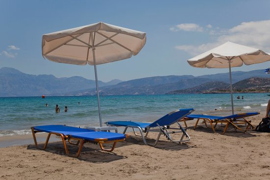 Crete, Greece: Der Strand