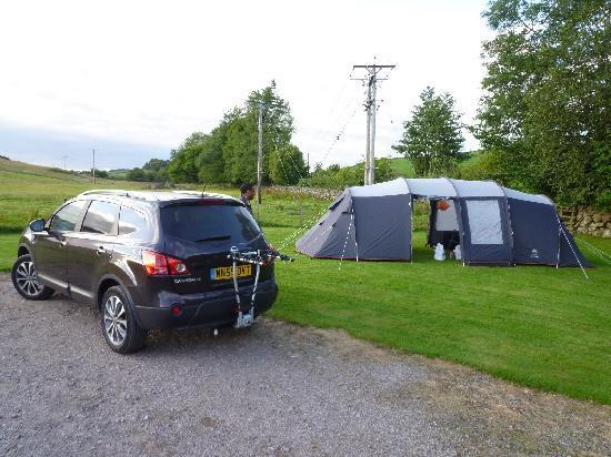 Glenearly Caravan Park: our tent pitch