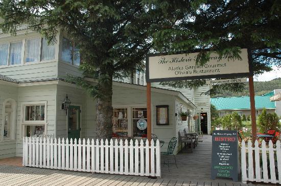 Historic Skagway Inn: Hoteleingang