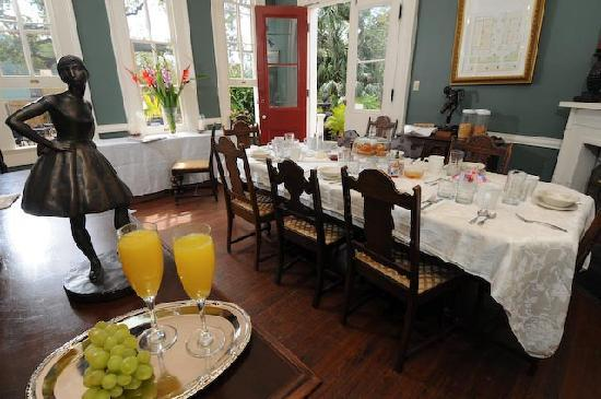 Degas House: The Breakfast Room