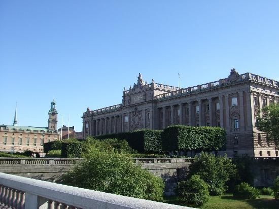 Stockholm - Reichstagsgebäude