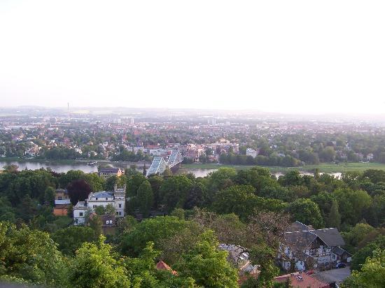 Cafe-Restaurant Luisenhof : Ausblick von der Terrasse