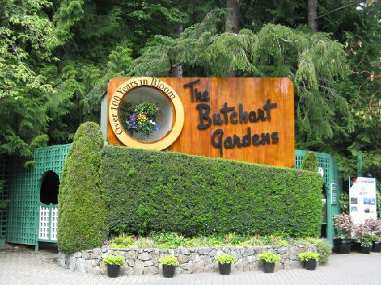 Abigail's Hotel: Butchart Gardens, a must see.