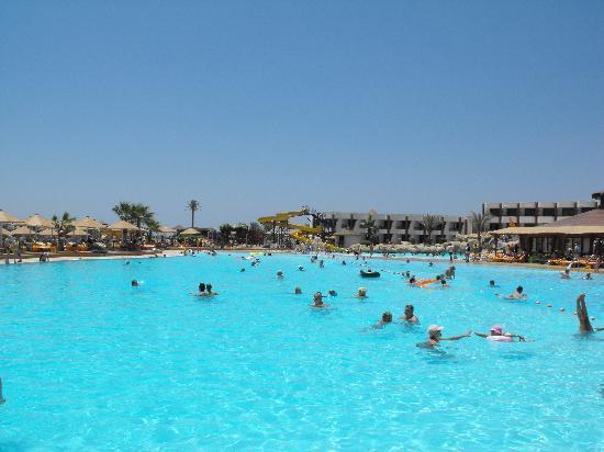Tutto sul sea magic ex pyramisa sea magic resort and - Piscinas grandes ...