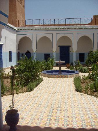 Taliouine, Maroko: patio