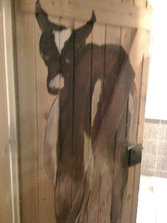 Papa Joe's Saloon & Steakhouse : Toilettentür!