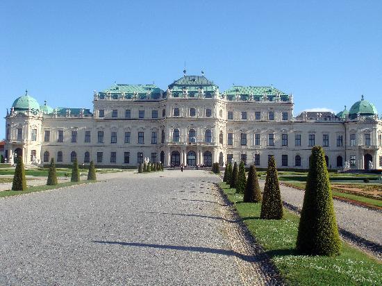 Wien, Österreich: El palacio Belvedere