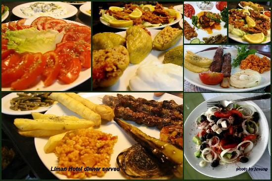 Mr Happy's - Liman Hotel: Dinner served@Liman Hotel