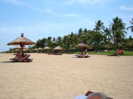 Club Med Bali: The beach
