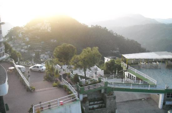 Barog, Indien: from room window