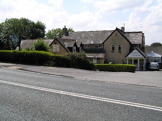 Cricket Field House - view of front from road