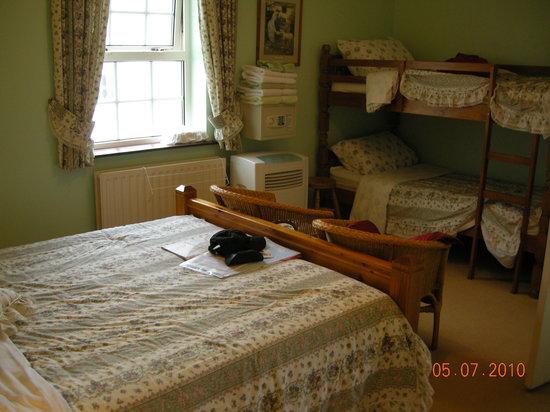 Carnalbanagh House: interior family room