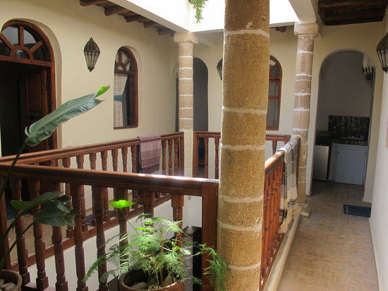 Riad Remmy: The riad's courtyard
