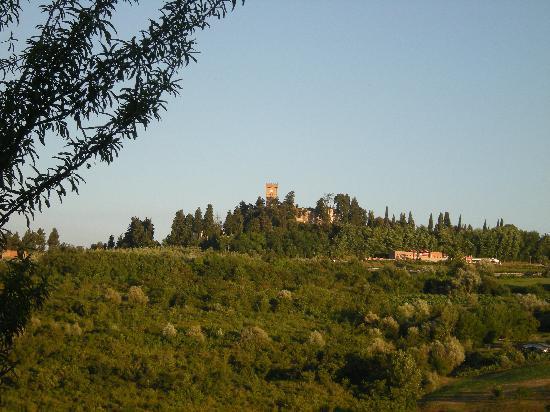 Montespertoli, Italie : vue sur la campagne