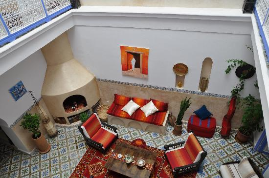 Riad Amana : Lounge - central place