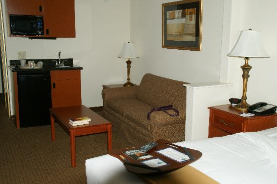 Holiday Inn Express San Angelo : king suite