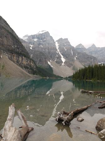 Moraine Lake: View from bottom