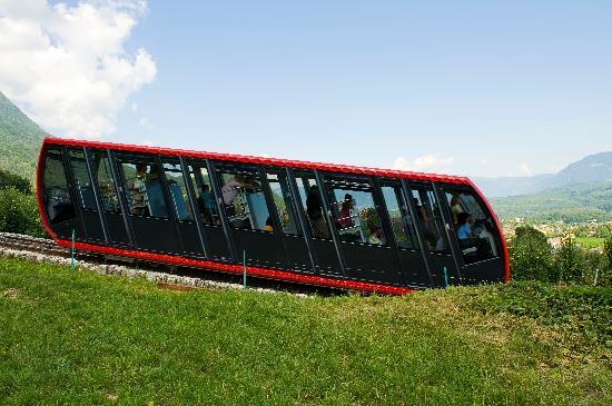 Caldaro sulla Strada del Vino, Italia: Mendelbahn in Kaltern