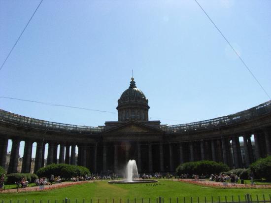 Kaz cathedral foto di san pietroburgo russia nord - San pietroburgo russia luoghi di interesse ...