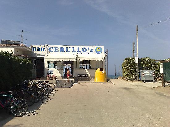 Cerullo's Paestum: l'ingresso alla spiaggia