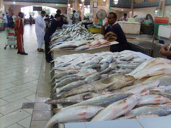 Kuwait City, Kuwait: Fischmarkt