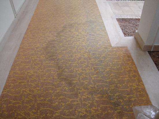 Radisson Blu Palace Resort & Thalasso, Djerba: moquette des couloirs chambre