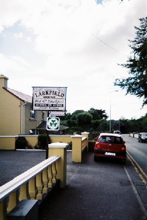Larkfield House : The welcome sign outside the Larkfield