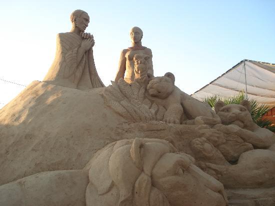 Be Smart Terrace Algarve: Sand Sculptures - near Pera