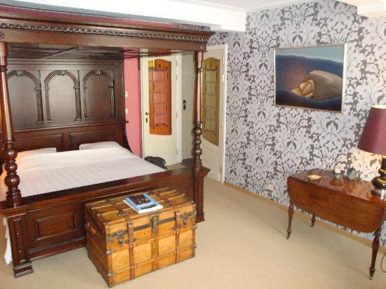 Huis 't Schaep: slaapkamer rembrandtsuite