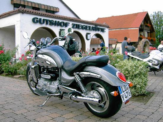 Edenkoben, Germany: Biker Willkommen