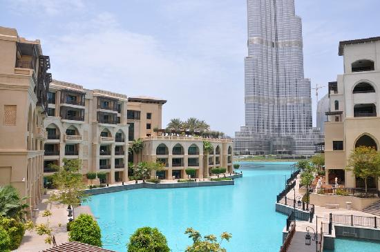 Palace Downtown: The Palace is next to the Burj Khalifa (828mtr)