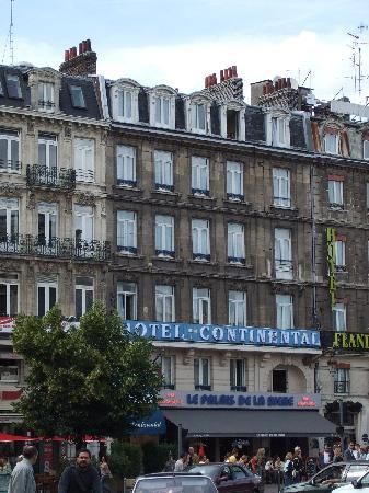 Hotel Continental : Außenansicht des Hotels