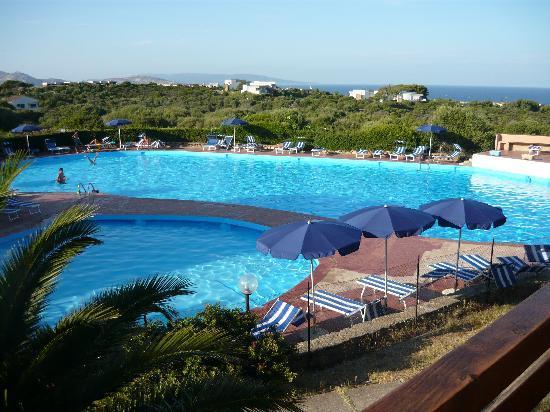Cala Reale: le piscine